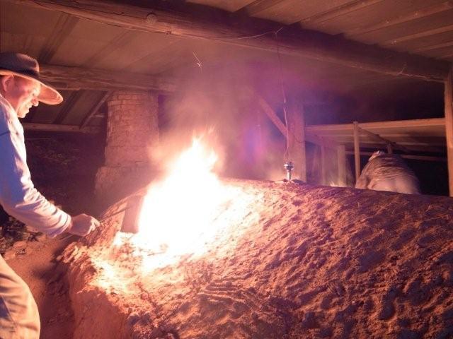 窯焚き2011